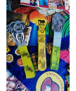segnalibri africani masai dipinti a mano